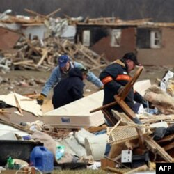 A series of tornadoes over two days in March killed 40 people in Kentucky, Alabama, Indiana and Ohio