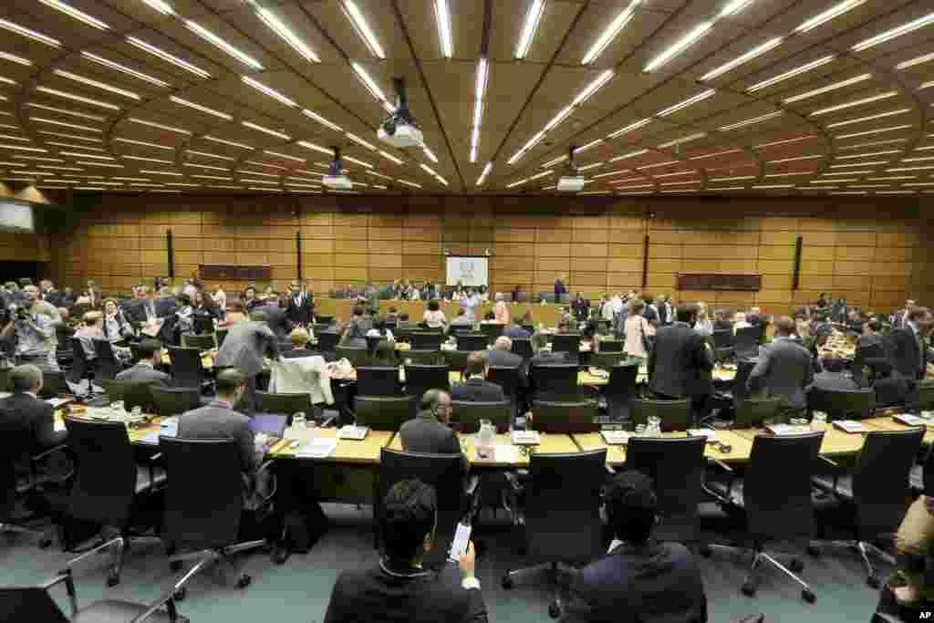 امروز آژانس بین المللی انرژی اتمی میزبان جلسه ویژه ای به درخواست آمریکا درباره دو اقدام نقض برجام توسط جمهوری اسلامی ایران بود.