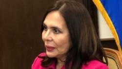 Entrevista con la canciller de Bolivia, Karen Longaric