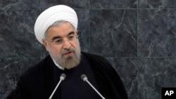 Le président Hassan Rouhani à l'ONU