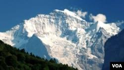 Pegunungan Alpen di Eropa (foto: ilustrasi).