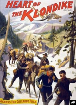 This old movie poster isn't much of a stretch when it comes to depicting the scope and rigors of the Klondike Gold Rush.
