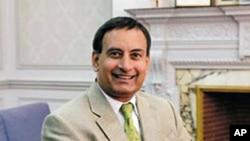 Pakistan's Ambassador in the United States, Hussein Haqqani (File)