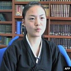 学生赵娜莉:我们和日本学生没什么不同