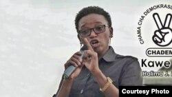 Halima Mdee - mmoja wa wabunge maalum wa Chadema walioapishwa bungeni Jumanne Nov 24 2020