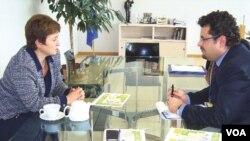 Avrupa Birliği Komisyonu'nun İnsani Yardımlardan Sorumlu Üyesi Kristalina Georgieva, Güven Özalp'in sorularını yanıtladı.