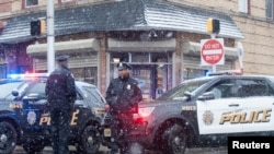 El mercado judío en Jersey City atacado la semana pasada por una pareja armada con armas largas, quienes asesinaron a cuatro personas.