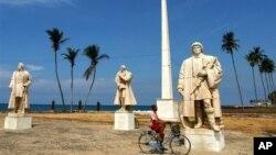 Largo do Museu Nacional de São Tomé (Arquivo)