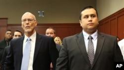 La jueza ordenó la liberación de Zimmerman, el levantamiento de su fianza y el retiro del brazalete adherido en su pierna.