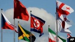 Để thượng cờ Triều Tiên ở Olympic Pyeongchang, Hàn Quốc phải miễn áp dụng một số luật