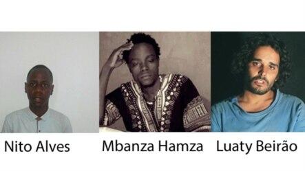 Nito Alves, Mbanza Hamza, Luaty Beirao, activistas angolanos