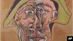 Bức Harlequin Head của danh họa Picasso là một trong những bức tranh bị đánh cắp