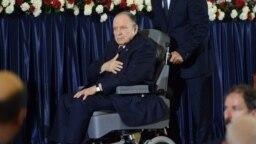 Abdelaziz Bouteflika, tomada de posse em 2014 (arquivo)