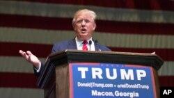 دانالد ترمپ، کاندید ریاست جمهوری امریکا از حزب جمهوریخواه است.