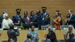 Blessing Zulu Reports on Reaction to President Mugabe's AU Speech