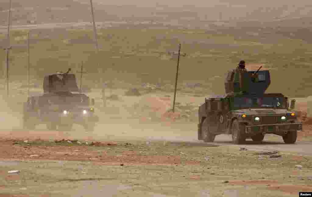 عراقی فوج نے جنوری کے وسط میں موصل کے مشرقی حصے کو آزاد کروا لیا تھا۔