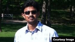 Srinivas Kuchibhotla (32 tahun), seorang insinyur India yang tewas ditembak di sebuah bar di Kansas, Amerika hari Rabu (22/2).