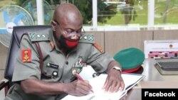 Laftanar Janar Faruk Yahaya (Facebook/Nigerian Army)