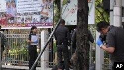 تھائی لینڈ: تین بم دھماکوں میں پانچ افراد زخمی
