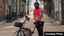 Soes Hindharno, penggemar olah raga bersepeda (dok. pribadi).