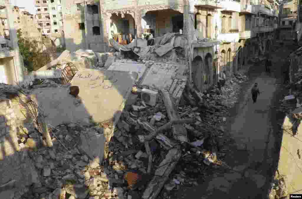 حمص، ۲۹ ژانویه ۲۰۱۴