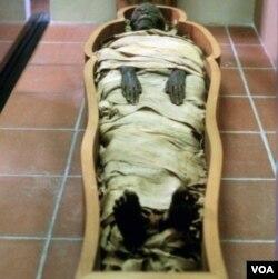 Proses mumifikasi membuat bakteri dan virus jenazah tidak membusuk.