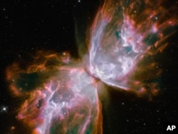 哈勃太空望远镜拍摄的照片