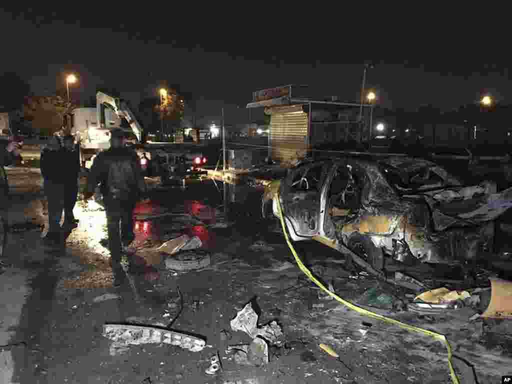 انفجار خودرو بمبگذاری شده در بغداد عراقکشته و زخمی برجای گذاشت.