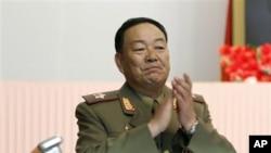 朝鲜人民武力部部长玄永哲(资料照)