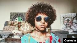 Sarhai Costa, grafiteira e artista plástica angolana