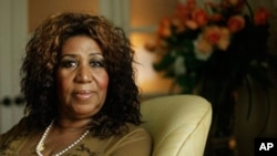 In this July 26, 2010 file photo, Aretha Franklin is shown in Philadelphia.