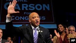 Anggota Kongres Amerika, Andre Carson, yang beragama Islam, merupakan salah seorang dari dua Muslim di Kongres AS (foto:dok).