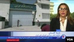 نازیلا گلستان هموند دفتر سیاسی شورای ملی ایران