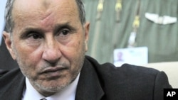 Mustafa Abdel Jalil, top rebel leader and chairman of the Libyan National Transitional Council, (file photo)