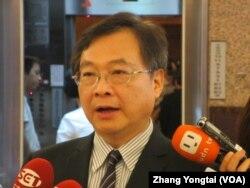 台湾执政党国民党立委纪国栋 (美国之音张永泰拍摄)