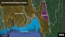 ເຂດດິນເຈື່ອນ ທີ່ Bangladesh