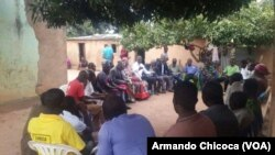 Autoridades tradicionais do Protectorado Lunda reunidas em Saurimo. Jan., 30, 2017