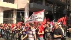 May Day Rallies Held Around the World