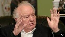 格鲁吉亚前总统、前苏联外长谢瓦尔德纳泽