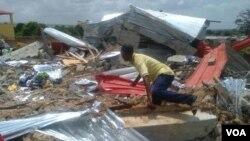 Anteriores demoliçoes em Luanda