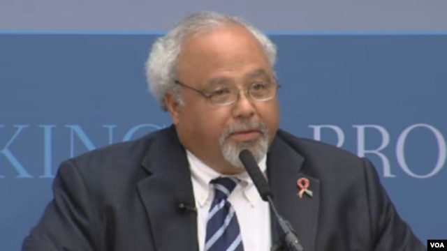 U.S. Global AIDS Coordinator Eric Goosby, M.D. (Brookings)
