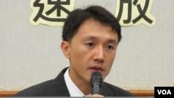 國際特赦台灣分會祕書長 楊宗澧(美國之音張永泰拍攝)
