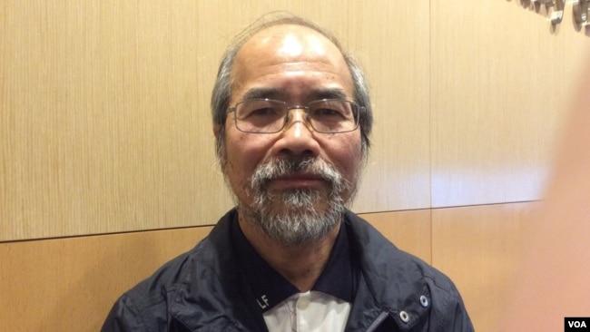 时事评论员刘锐绍(美国之音记者 申华拍摄)