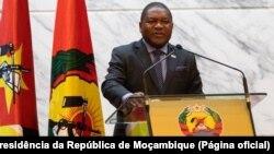 Filipe Nyusi, Presidente de Moçambique anuncia estado de emergência