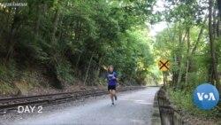 Corey Cappelloni berlari untuk bisa bertemu neneknya di kota lain (foto: dok).