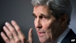 John Kerry, le 19 novembre 2015 à Washington. (AP Photo/J. Scott Applewhite)