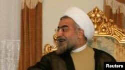 Le président Hassan Rohani réélu au premier tour, 6 avril 2004.