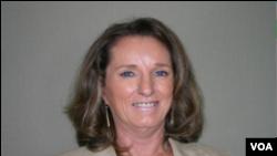 Pamela Ann White, Diplomat ameriken e Ambassadè Etazini ann Ayiti depi ane 2012. Koutwazi: Depatman Deta