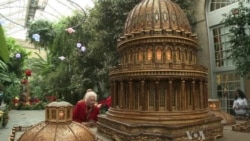 US Botanic Garden Wows Holiday Visitors