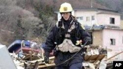 وقوع یک زلزله قوی در شمال شرق جاپان
